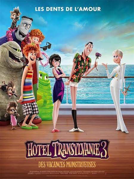 Hotel Transylvanie 3 Des vacances monstrueuses - affiche