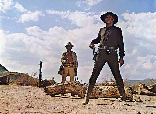 Charles Bronson et Peter Fonda - Il etait une fois dans lOuest - Copyright Paramount