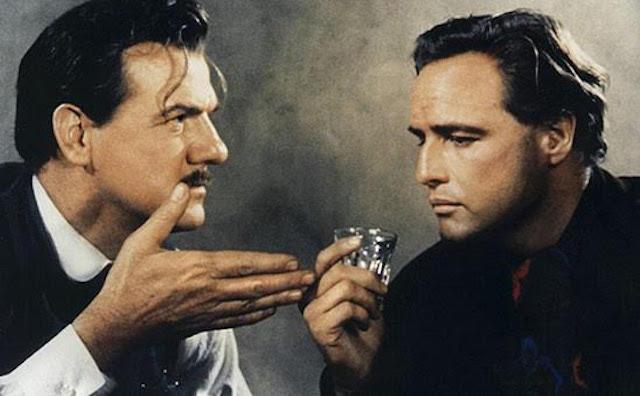 Karl Maden et Marlon Brando - La Vengeance aux deux visages