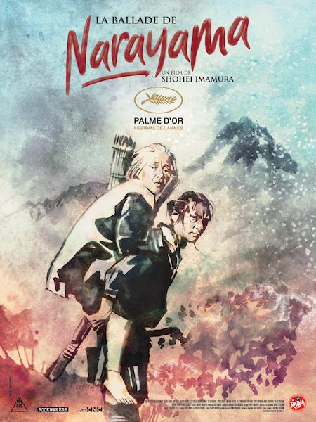 La Ballade de Narayama - affiche