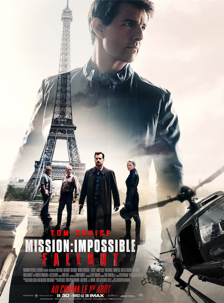 Mission Impossible Fallout - affiche