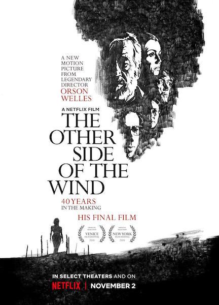 De lautre cote du vent de Orson Welles - affiche