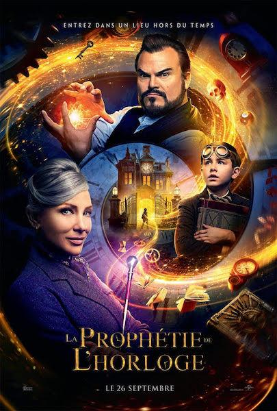 La prophetie de lhorloge - affiche