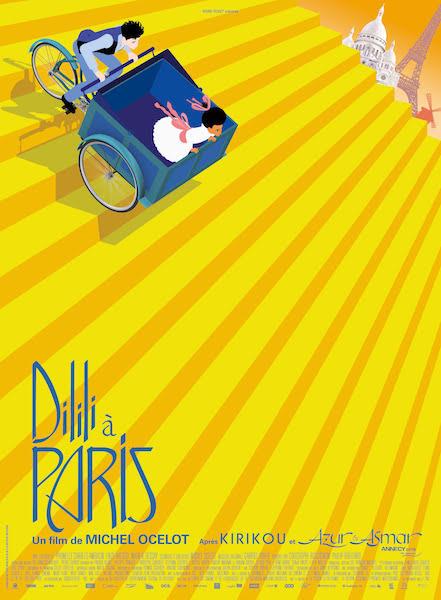 Dilili a Paris - affiche