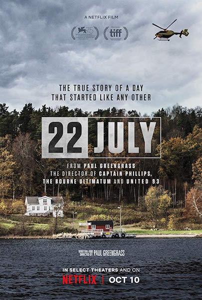 Un 22 juillet - affiche