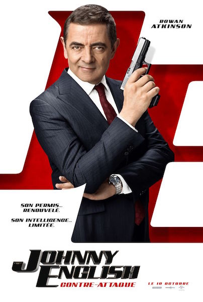 Johnny English contre-attaque - affiche