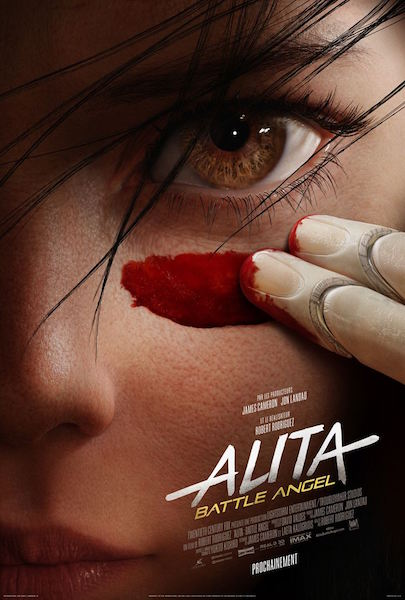 Alita Battle Angel - affiche