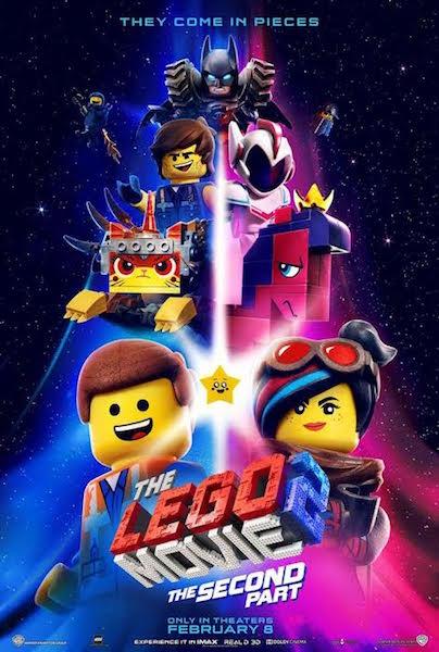 La grande aventure Lego 2 - affiche US