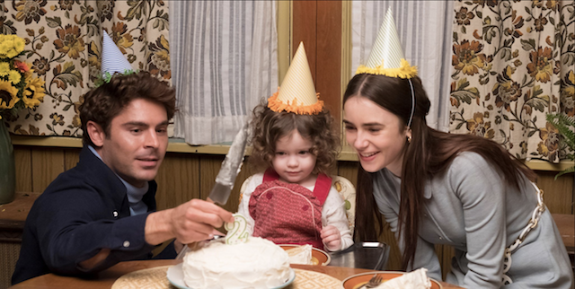 Zac Efron et Lily Collins dans Extremely Wicked, Shockingly Evil and Vil