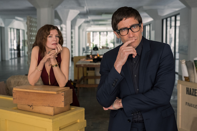 Jake gyllenhaal et Rene Russo - Velvet Buzzsaw-