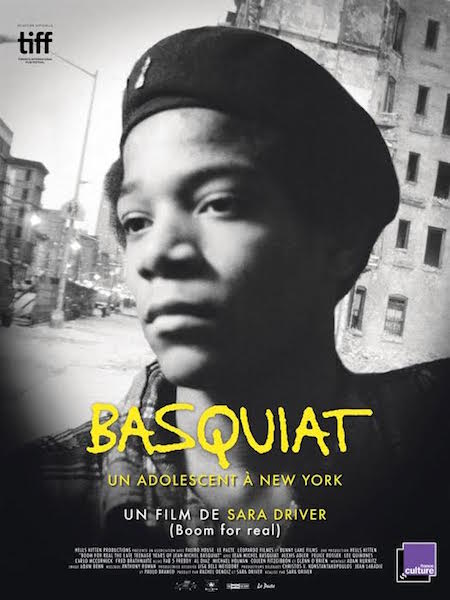 Basquiat - Un adolescent a New York - affiche