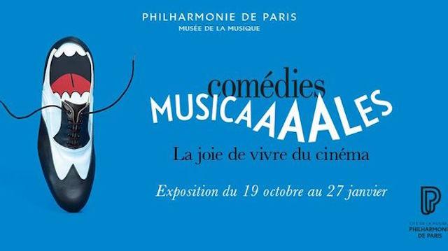 Expo Comedies musicales - Philharmonie