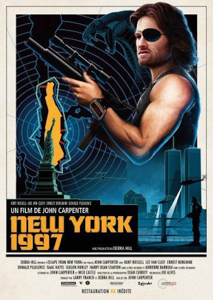New York 1997 - affiche ressortie