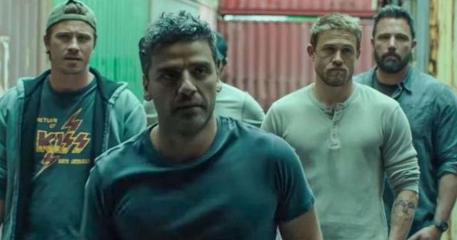 Oscar Isaac, Charlie Hunnam, Ben Affleck, Garrett Hedlund - Triple Frontiere