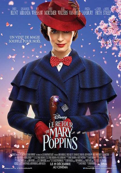 Le Retour Mary Poppins - affiche