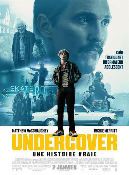 Undercover une histoire vraie  - affiche