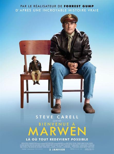 Bienvenue a Marwen - affiche