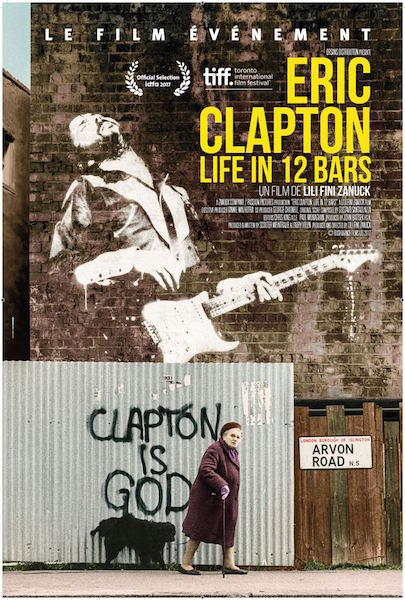 Eric Clapton - Life in 12 bars - affiche
