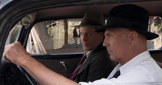 Kevin Costner et Woody Harrelson - The Highwaymen