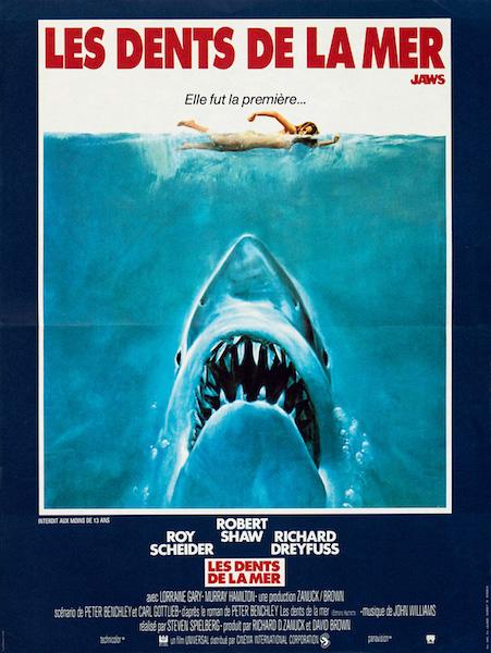 Les Dents de la Mer - Jaws - affiche