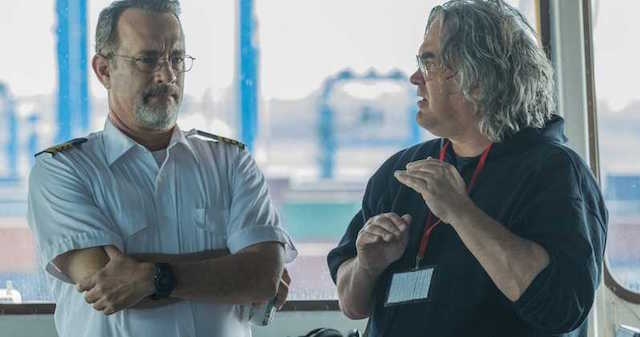 Paul Greengrass et Tom Hanks