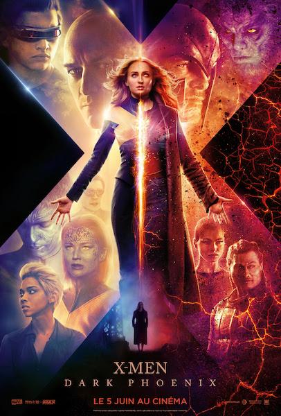 X-Men Dark Phoenix - affiche