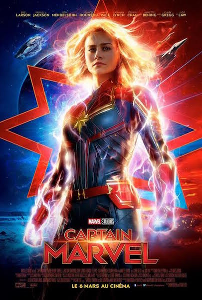 Captain Marvel - affiche