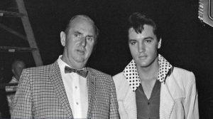 Colonel Parler et Elvis Presley