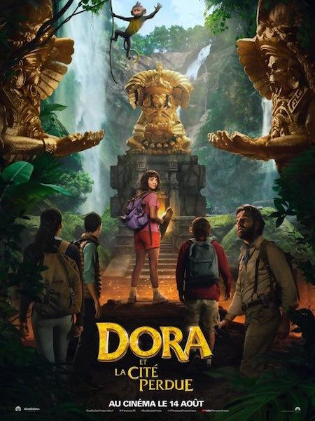 Dora et la Cite Perdue - afiche