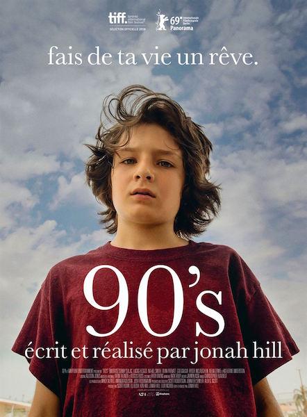 90s de Jonah Hill - affiche