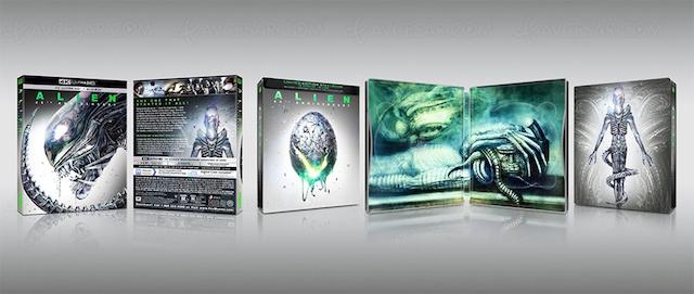 Alien - BR 4K Ultra HD 40e anniversaire