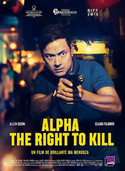 Alpha the right to kill  - affiche