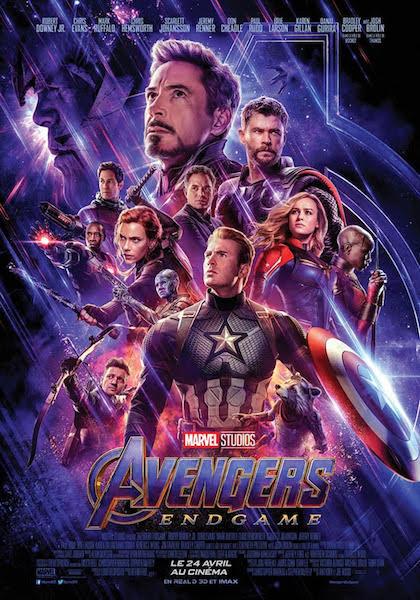 Avengers Endgame - affiche