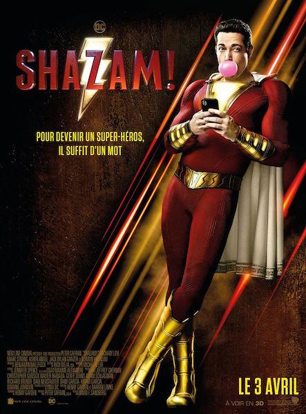 Shazam - affiche