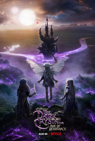 The Dark Crystal - affiche Netflix