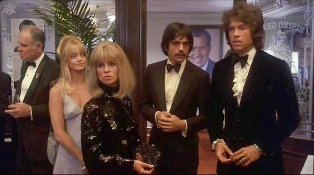 Warren Beatty - Julie Christie - Goldie Hawn - Shampoo