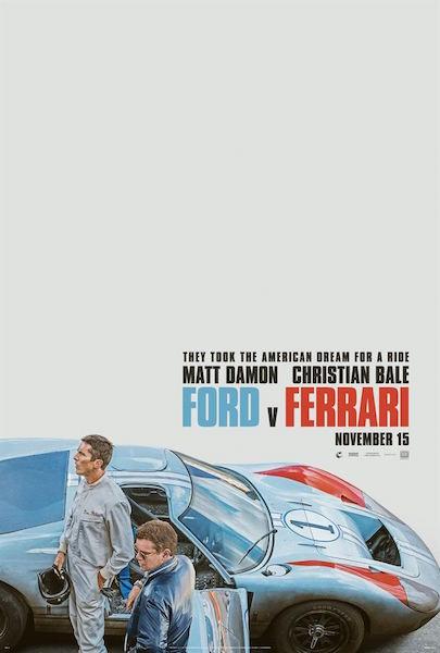 Ford v Ferrari - affiche