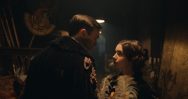 Nicholas Hoult et Lily Collins - Tolkien