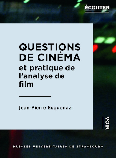 Questions de cinema - Jean-Pierre Esquenazi