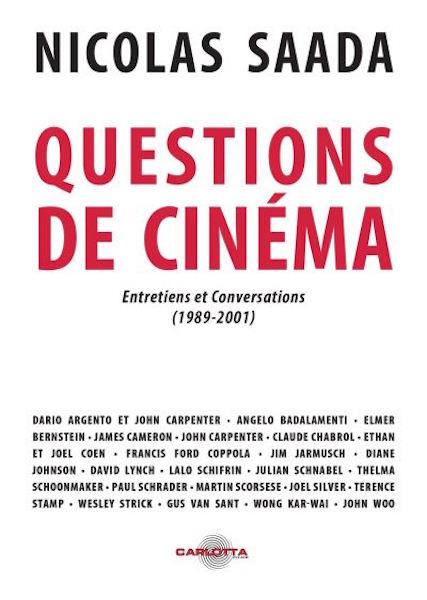 Questions-de-cinema - Entretiens et conversations