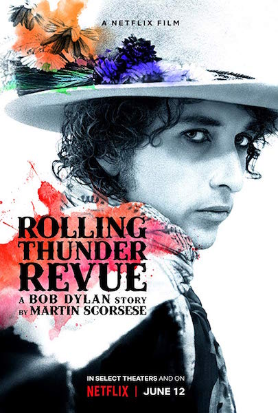 Rolling Thunder Revue - A Bob Dylan Story by Martin Scorsese - affiche