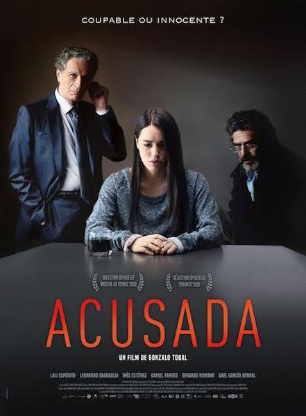 Acusada - affiche