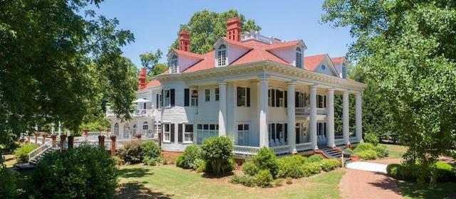 La demeure qui a inspire celle du film Autant en emporte le vent