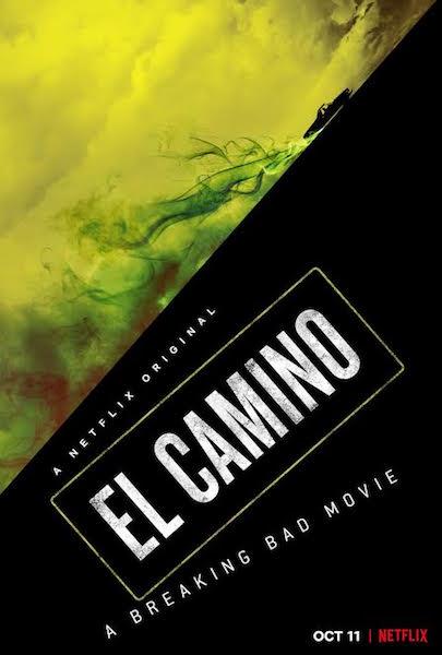 El Camino un film Breaking Bad - affiche