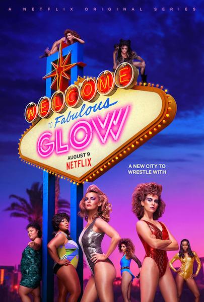 Glow saison 3 - affiche