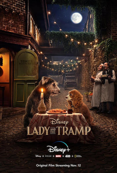 La belle et le Clochard - The Lady and the Tramp - affiche