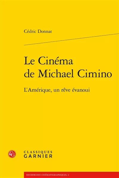 Le cinema de Michael Cimino - livre