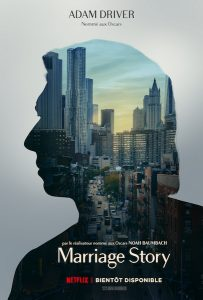 Marriage Story - affiche Adam Driver
