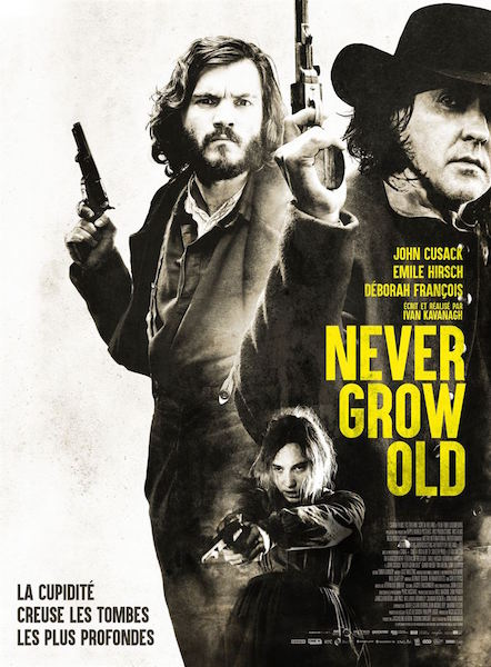 Never grow old - affiche