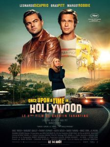 Once upon a time in Hollywood - affiche